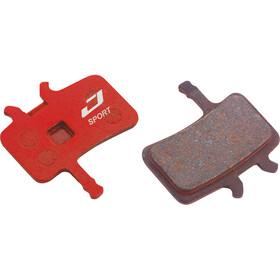 Jagwire Sport Semi-Metallic Pastillas de freno para Avid BB7 / Todos los modelos Juicy 1 Par, red